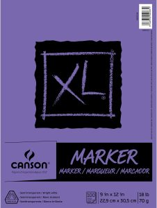 Canson XL Series Marker Paper Pad