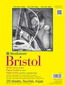 Strathmore 300 Series Bristol Vellum Pad