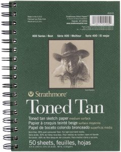 Toned Sketch Pad