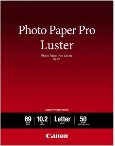 Canon Luster Photo Paper