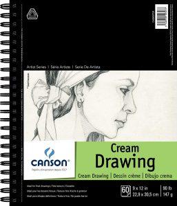 Cream Drawing Pad
