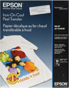 Epson Iron-on Cool Peel Transfer