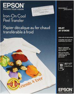 Epson Iron-on Cool Peel Transfer