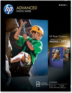 HP Glossy Advanced Photo Paper