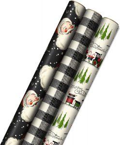 Hallmark Black Christmas Paper