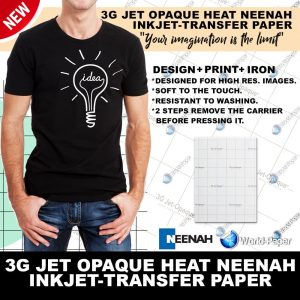 Iron ON Heat Transfer Paper