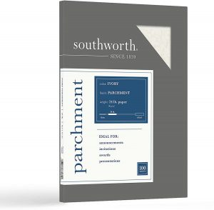 Parchment Specialty Paper