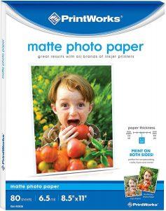 Printworks Matte Photo Paper