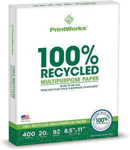 Recycled Multipurpose Paper