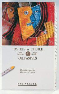 Sennelier Oil Pastel Card Pad