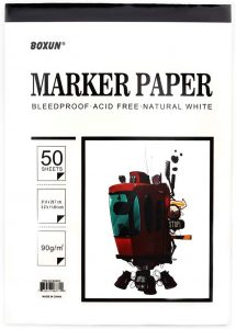 Sketch Marker Paper Pad
