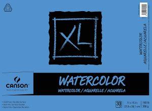 Watercolor Textured Paper Pad