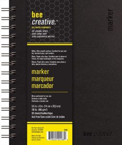 Bee Paper Company BEE-20001 Creative Marker Book