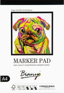Bianyo Bleedproof Marker Paper Pad