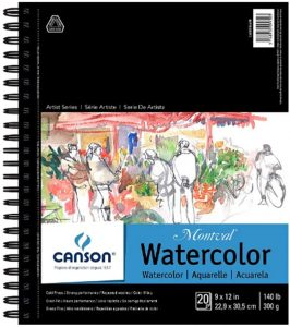 CANSON Artist Series Montval Watercolor Paper Pad