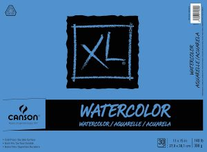 Canson XL Series Watercolor Textured Paper Pad