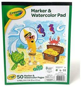 Crayola Marker and Watercolor Pad