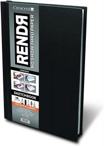 Crescent Creative Products 8.5 11-inch RENDR Hardbound Sketchbook