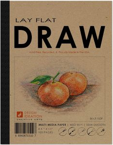 Design Ideation Lay Flat Drawing Pad