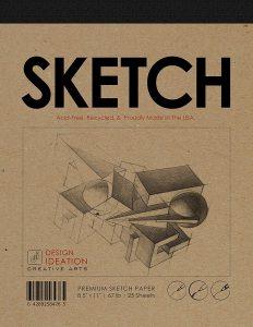 Design Ideation Sketch Pad